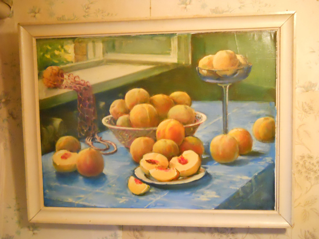 Petr Nikolayevich Balabanov. Peaches - still life