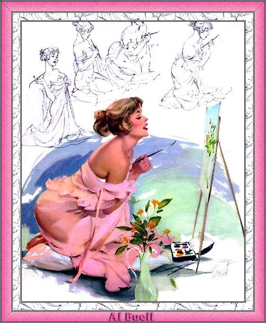 Эл Буэлл. Леди в розовом