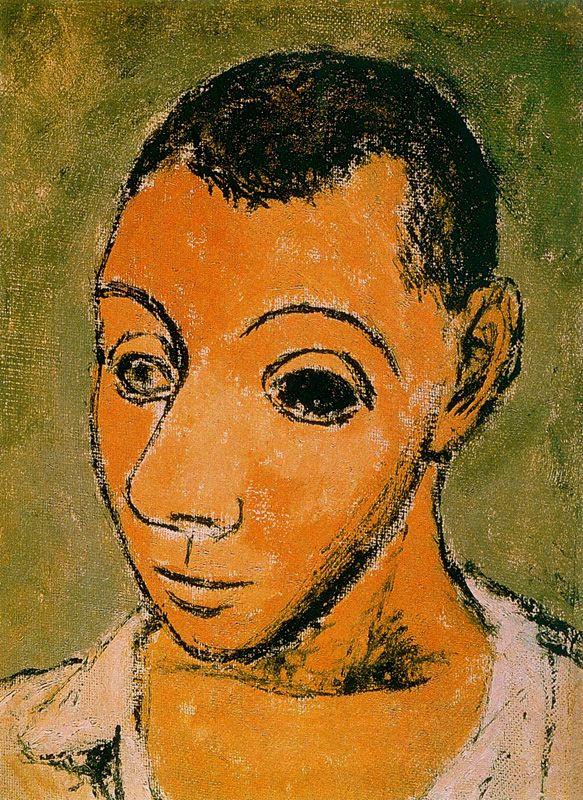 Пабло Пикассо. Мужской портрет