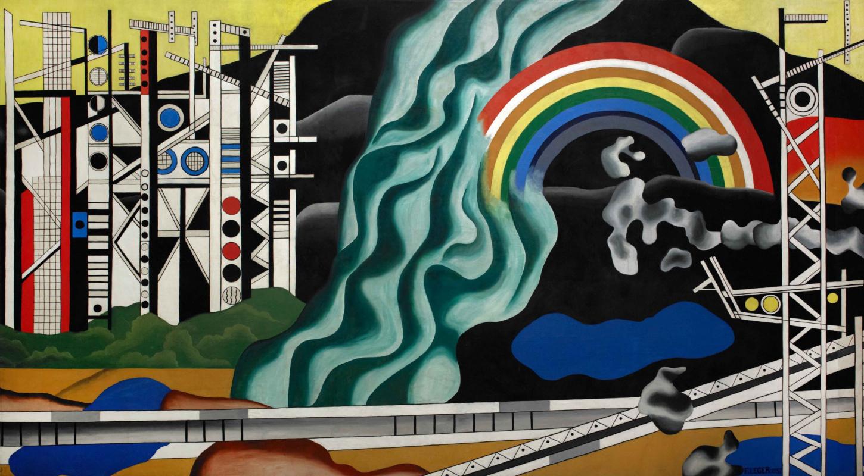 Fernand Leger. The transfer of energy