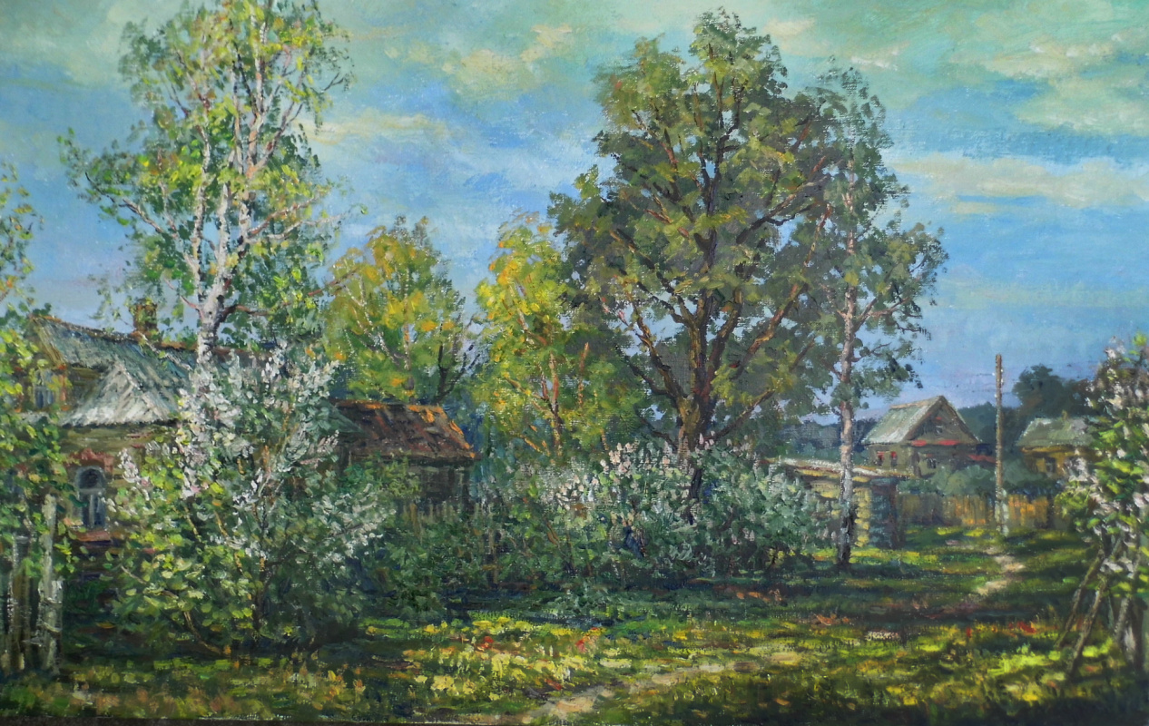 Victor Vladimirovich Kuryanov. The smell of fragrant lilacs