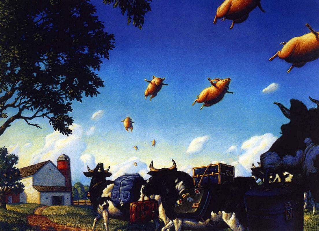Тим Джесселл. Свиньи в полете