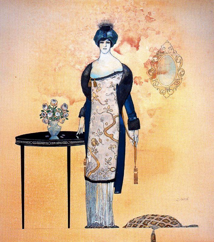 Ксавье Гос. Женщина возле стола