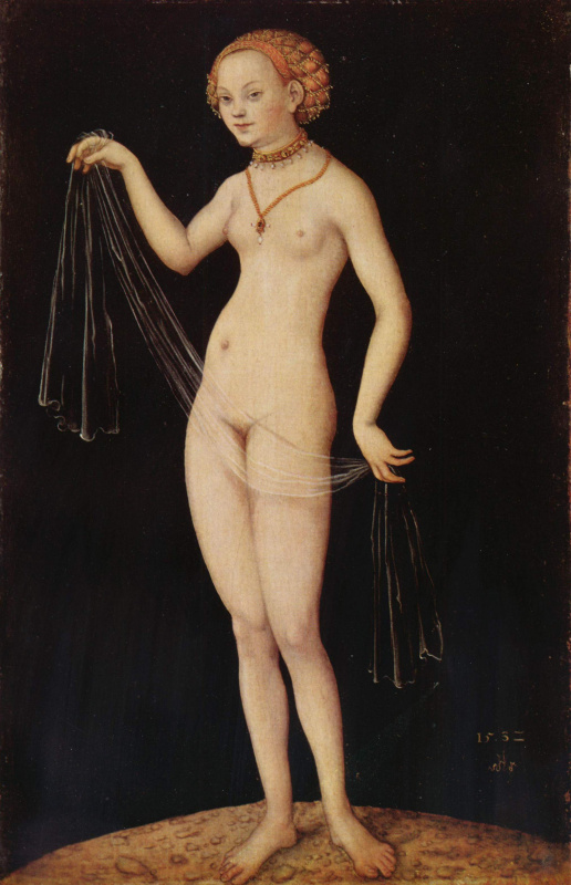 Lucas Cranach the Elder. Venus