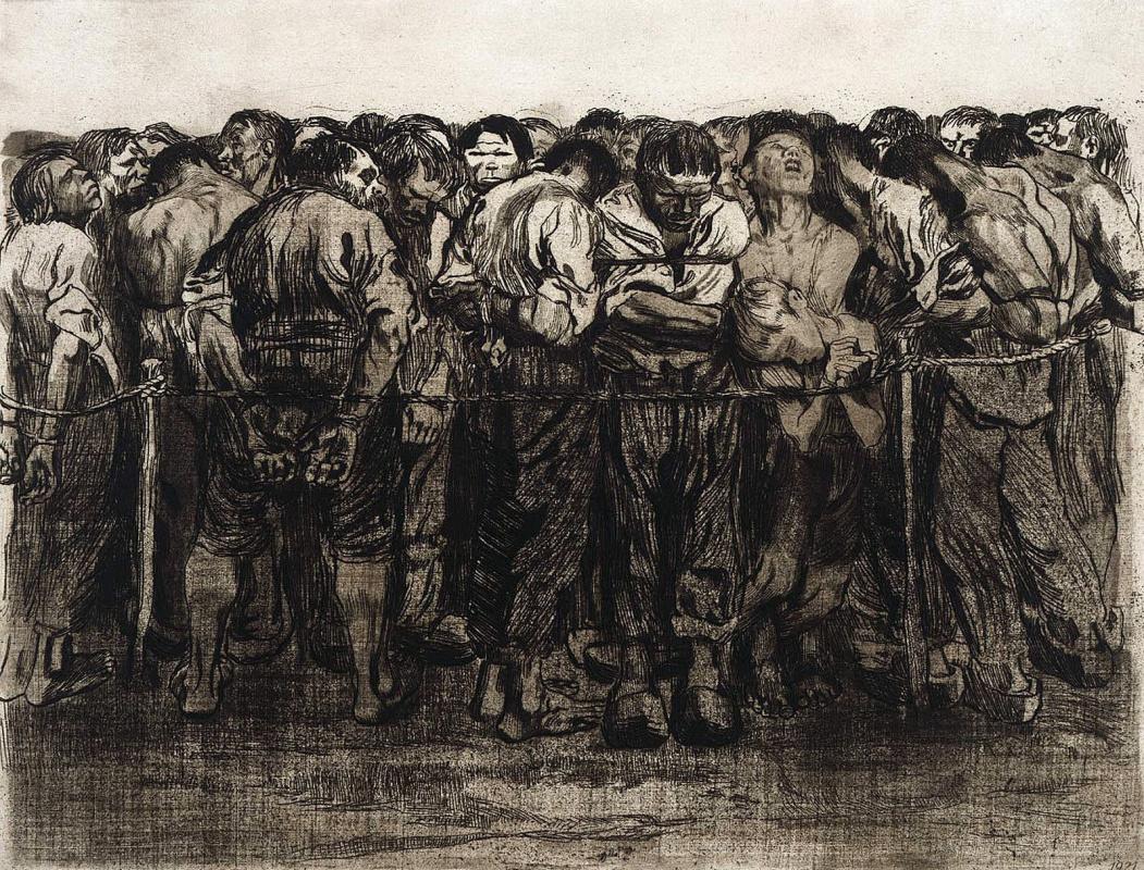 Käthe Kollwitz. Prisoners