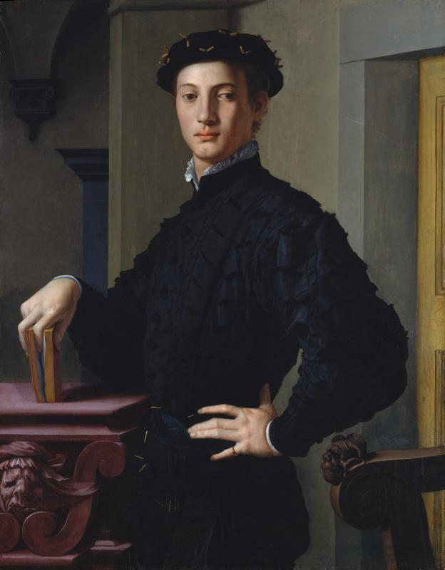 Agnolo Bronzino. Portrait of a young man