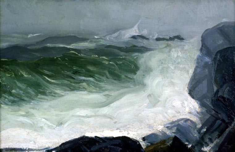 George Wesley Bellows. A sea of gray
