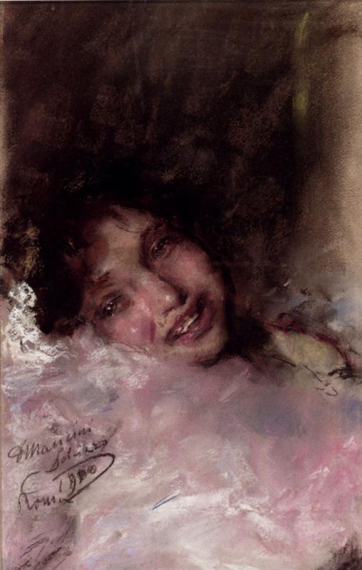 Антонио Манчини. Неповторимая улыбка