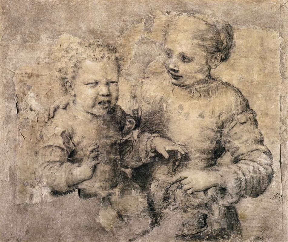 Софонисба Ангвиссола. Мальчик, укушенный креветкой (Асдрубаль, укушенный раком)