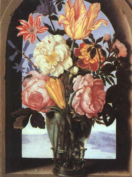 Амброзиус Босхарт Старший. Цветы в вазе