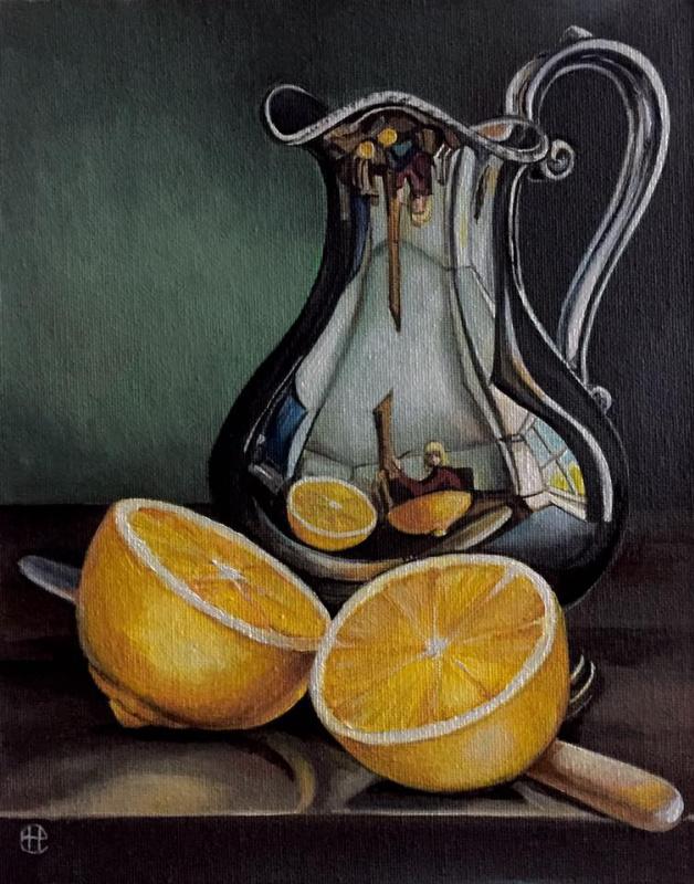 Hope Sosnovikova. Jug with lemon