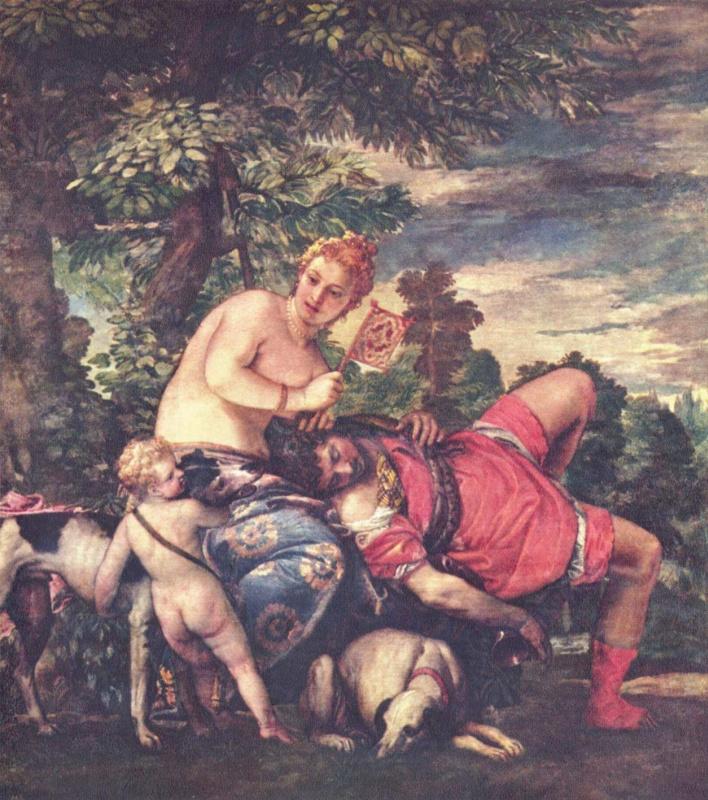 Паоло Веронезе. Венера и Адонис