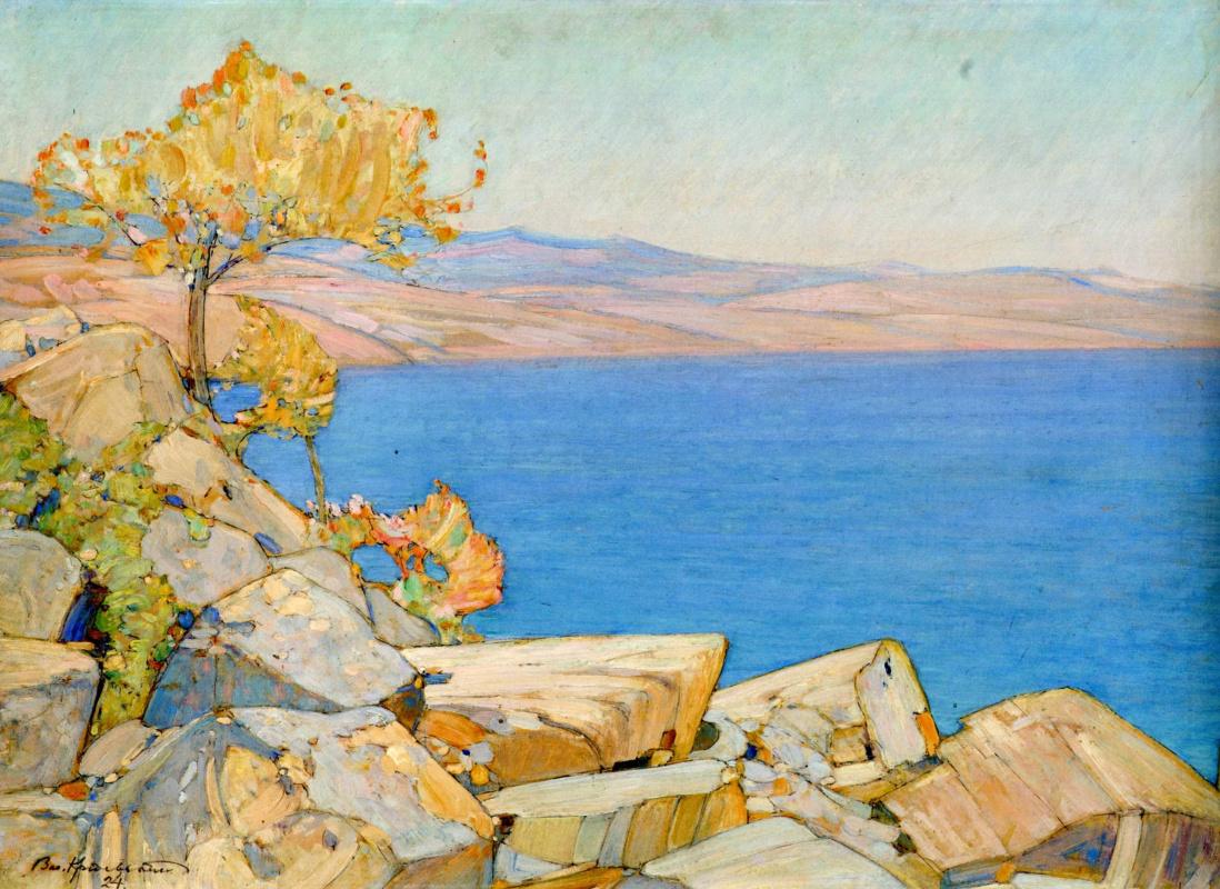 Vasyl Hryhorovych Krychevsky. Alushta. Crimea