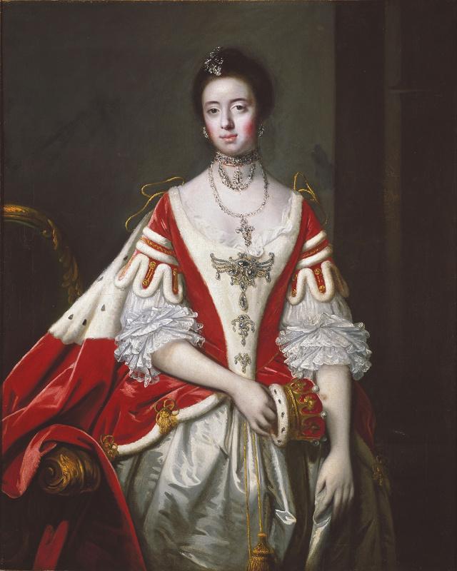 Joshua Reynolds. Francis, Countess of Dartmouth