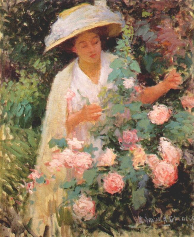 Эдмунд Уильям Грисен. Леди с розами