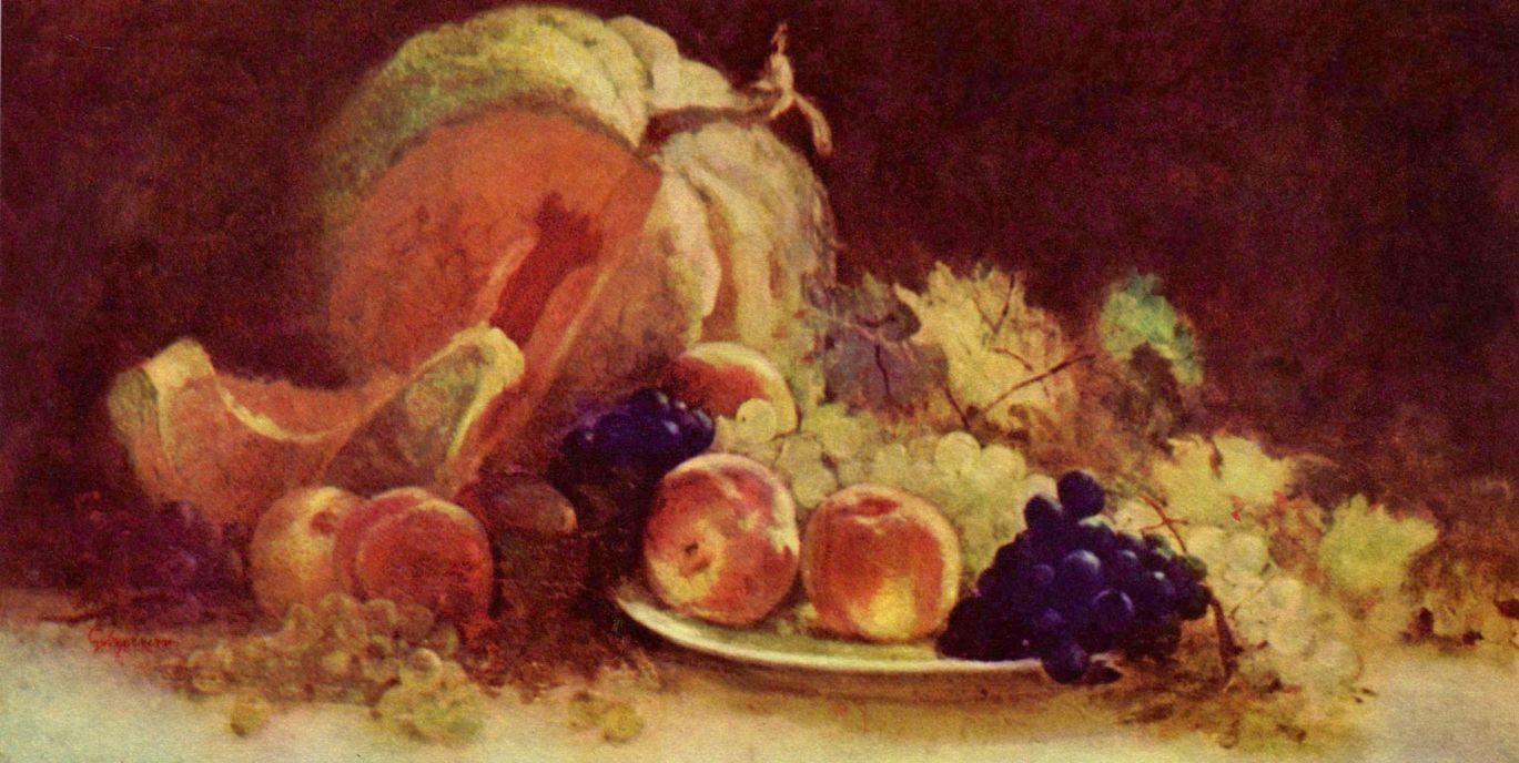Nicolae Grigorescu. Still life with fruits