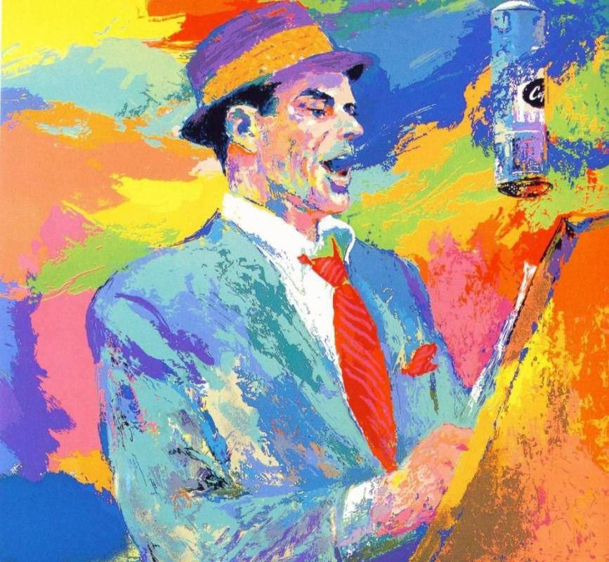 Leroy Neiman. Frank Sinatra