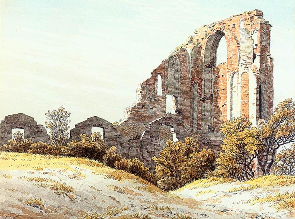 Caspar David Friedrich. Ruin