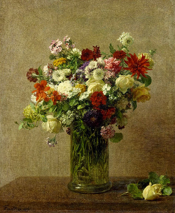 Henri Fantin-Latour. Flowers of Normandy