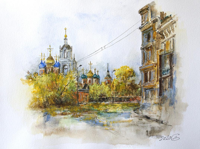 Сергей Владимирович Дорофеев. Moscow. Varvarka street
