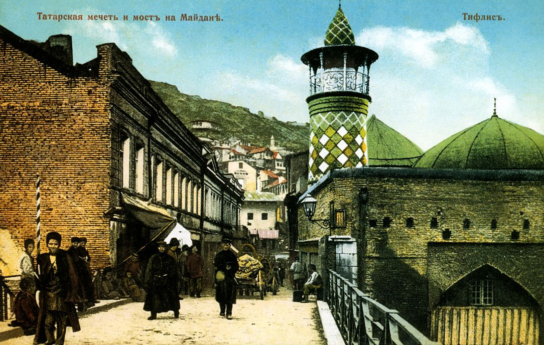 Нико Пиросмани (Пиросманашвили). Татарская мечеть и мост на Майдане