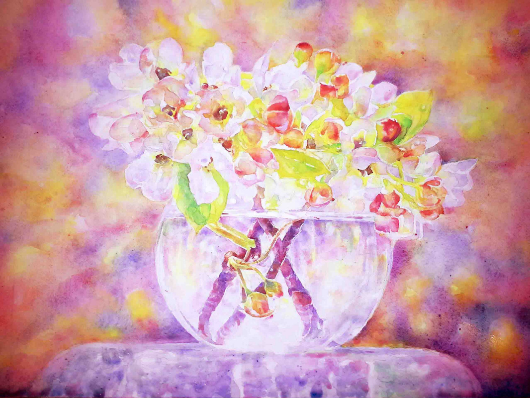 Alexey Yuryevich Maslov. Spring bouquet