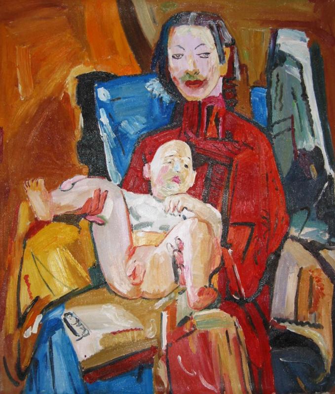 Йен Пин. Мать с ребенком