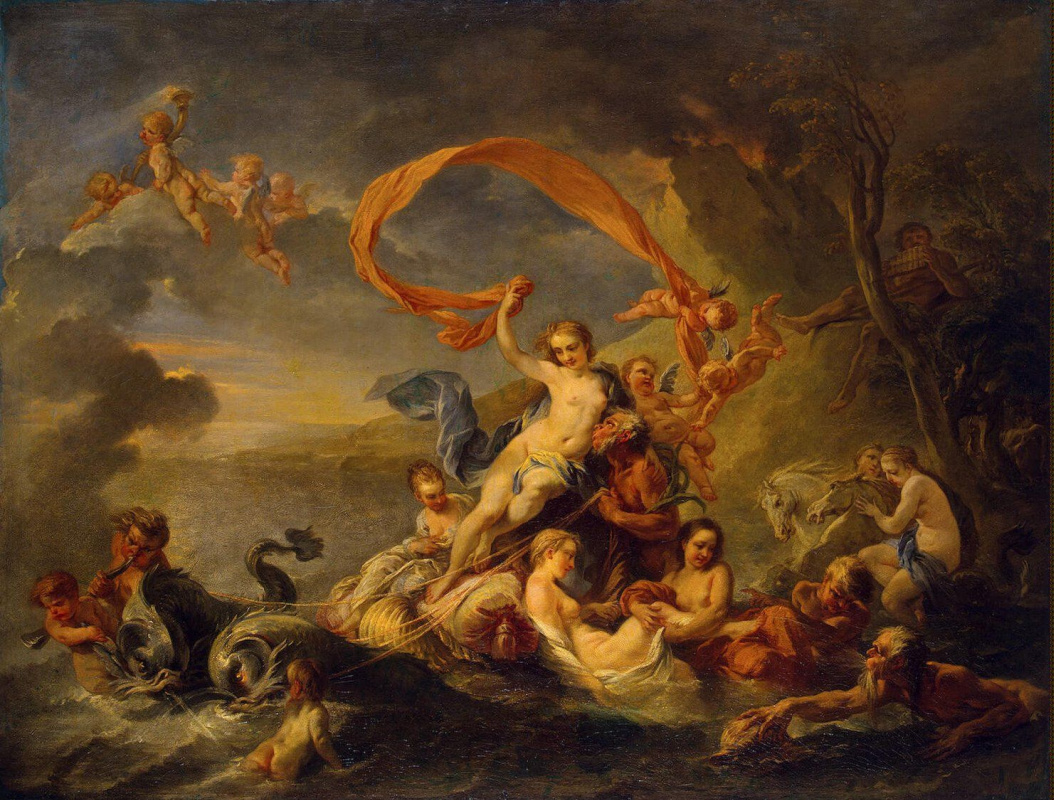 Жан-Батист ван Лоо. Триумф Галатеи