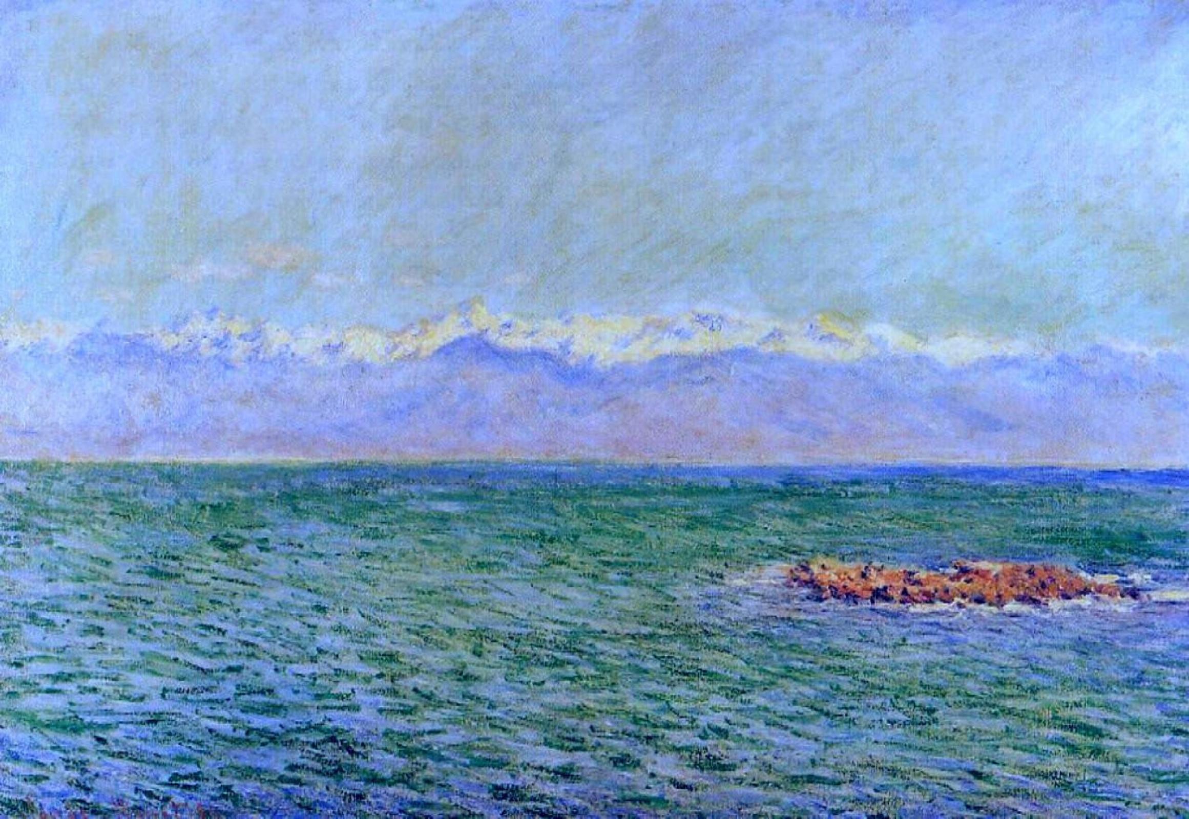Клод Моне. Море и Альпы