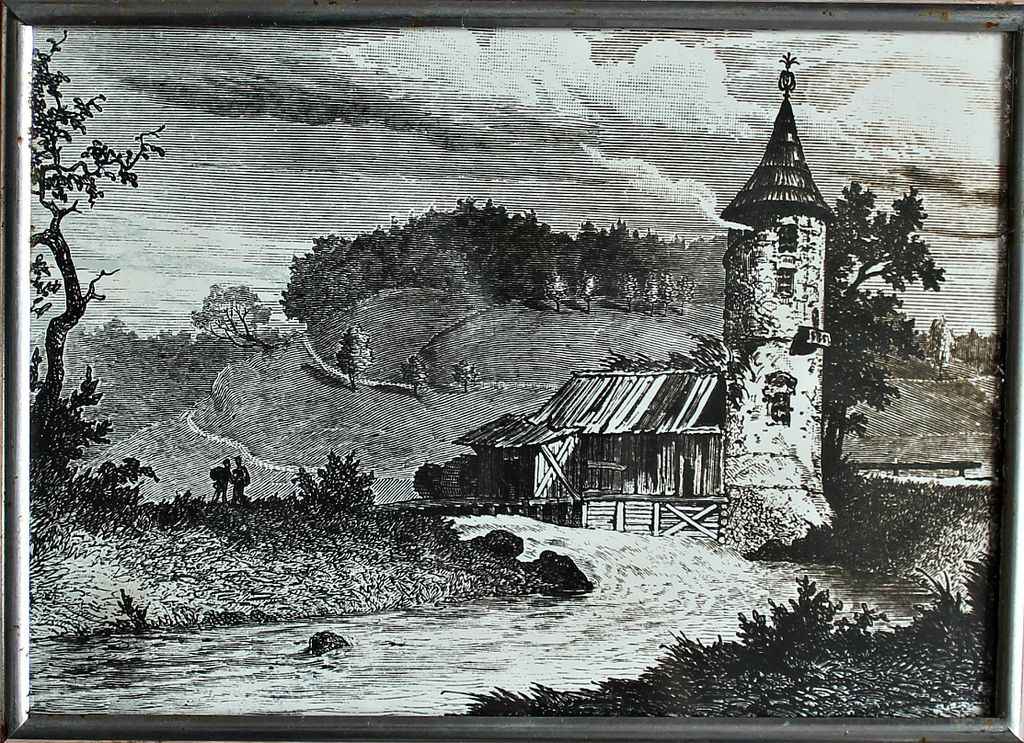 Lavrenty Avksentievich Seryakov. Pavlovsky Park. Peel Tower