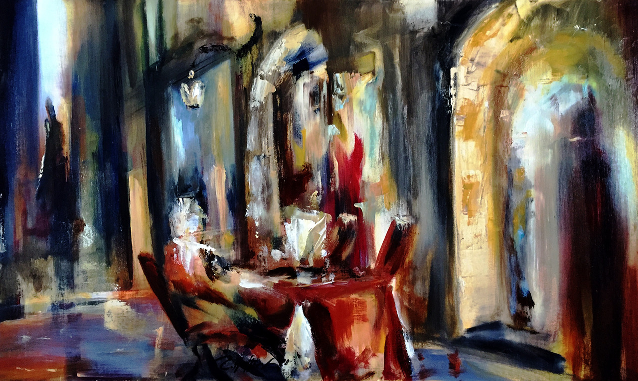 Robert Hettich. Evening meal