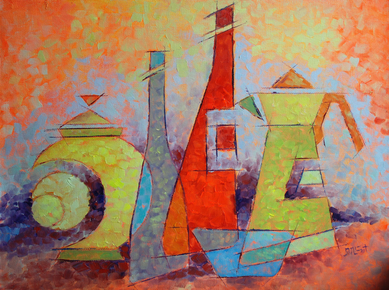 "Sveta Mikhailova. ""Transforming shapes"""
