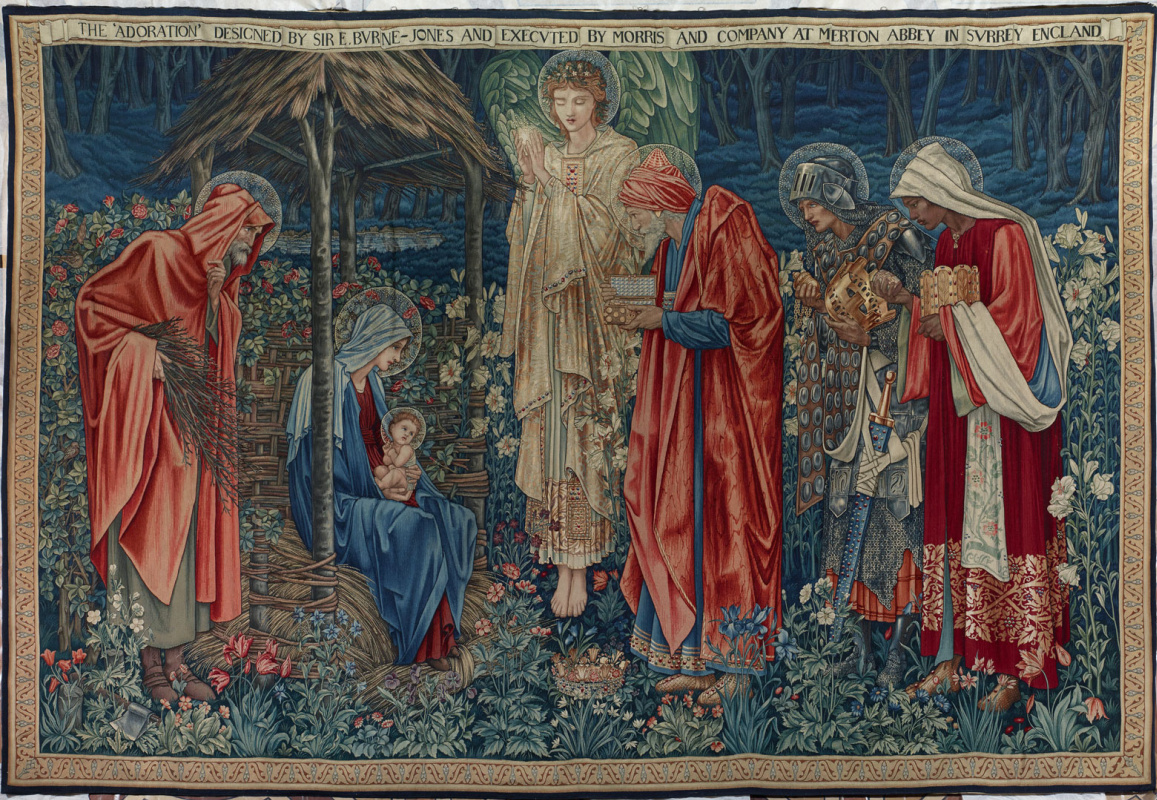 Edward Coley Burne-Jones. Adoration of the Magi