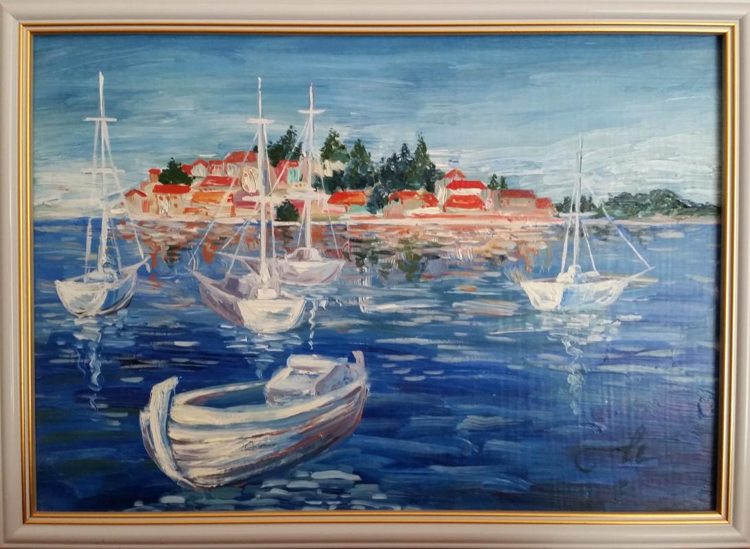 Irina Belyaeva. Port in the Adriatic