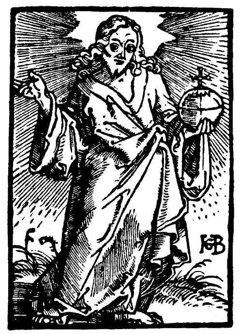 Ханс Бальдунг. Христос с державой