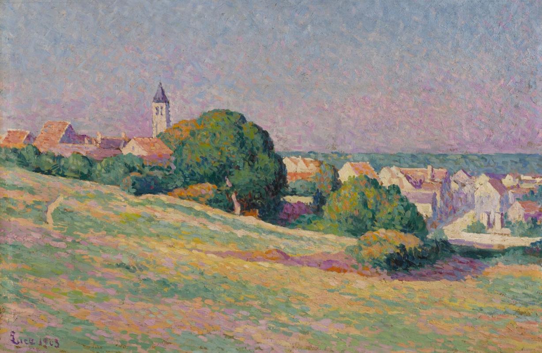 Maximilian Luce. View of Mereville
