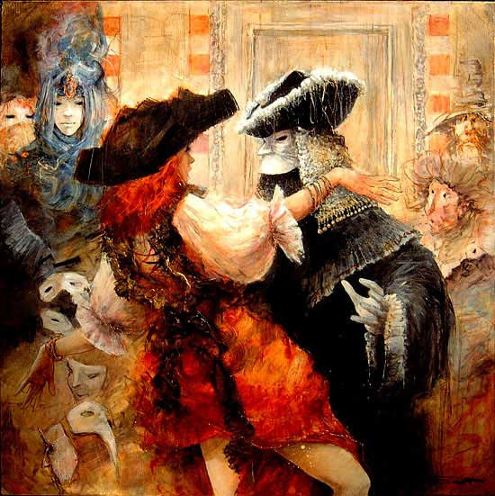 Marcel Pajot. At the carnival