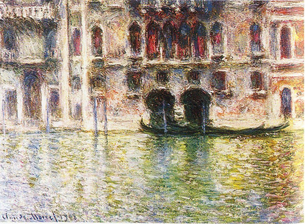Клод Моне. Палаццо Мула в Венеции