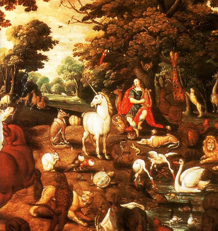 Орфей, очаровывающий животных