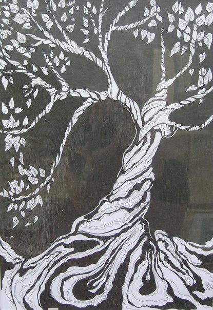 Xenia Hidayeva. Tree