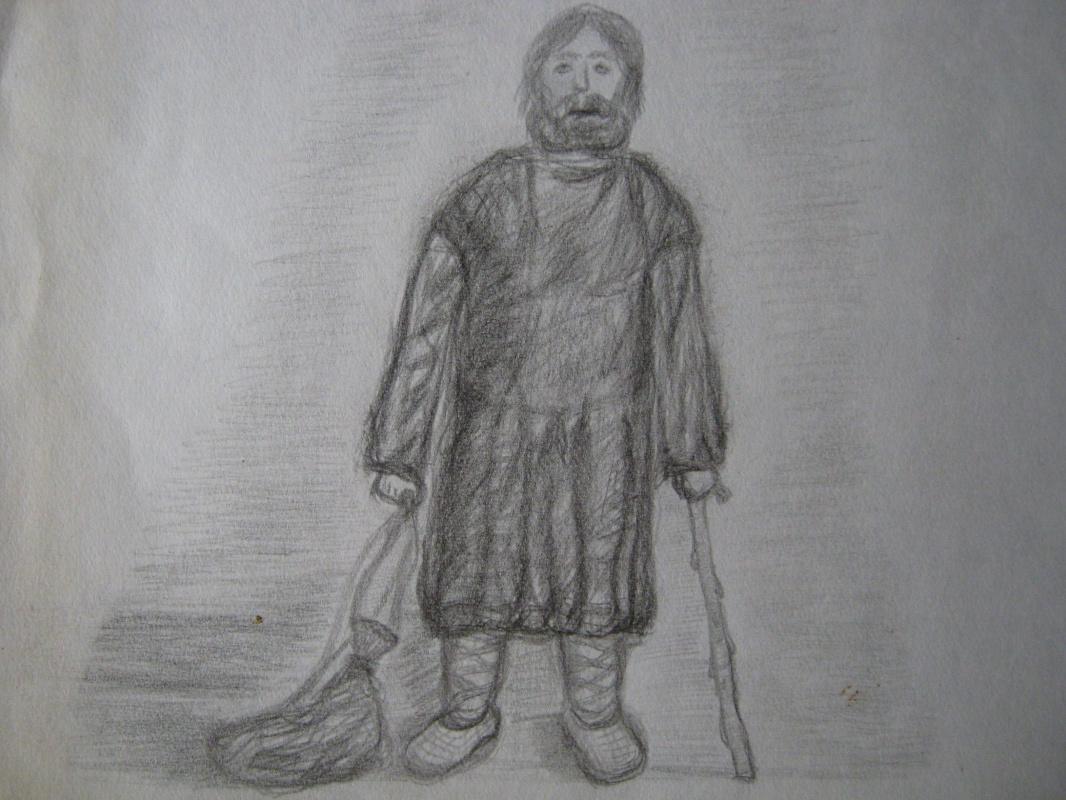 "Алексей Гришанков (Alegri). ""Blind Wanderer"""