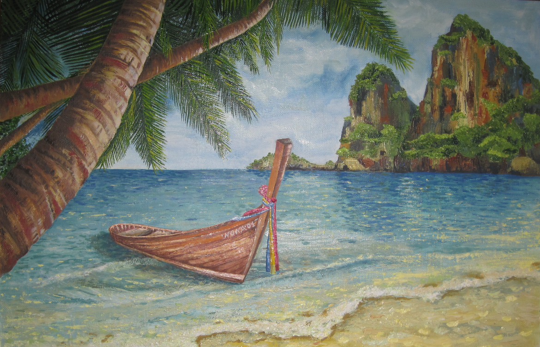 Maria Zakaryan. Tayland kamni