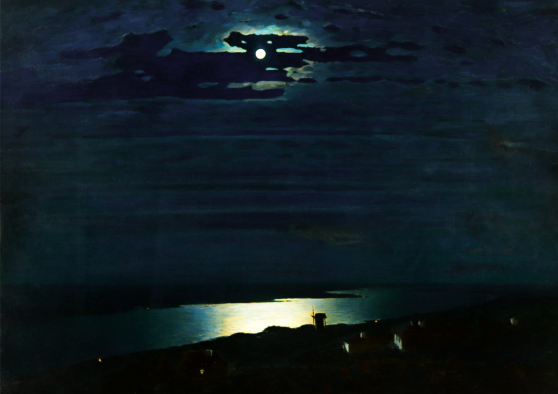 Arkhip Kuindzhi. Moonlit Night on the Dnieper (4)