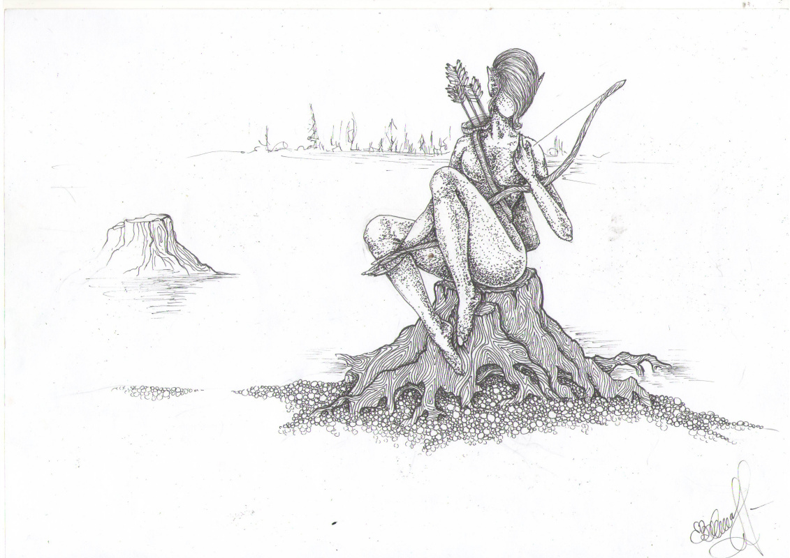 Ekaterina Valerievna Rubleva. Swamp nymph