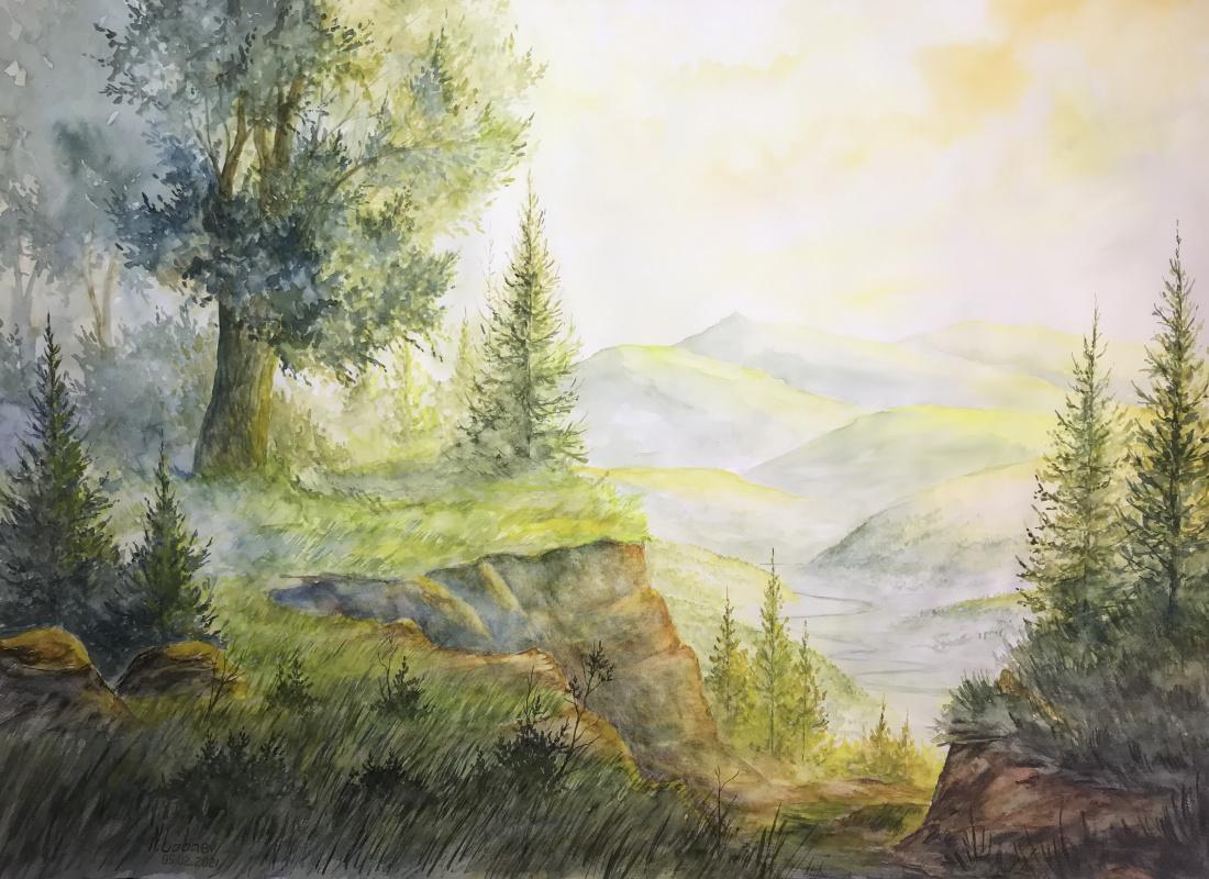 Lobaev. Желтая долина