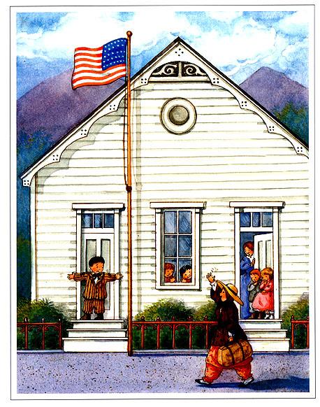Мэри Де Нил Морган. Американский дом