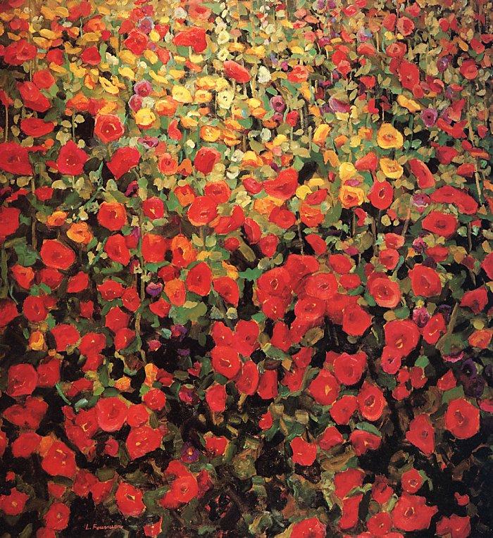 Лилиан Фурнье. Поле цветов