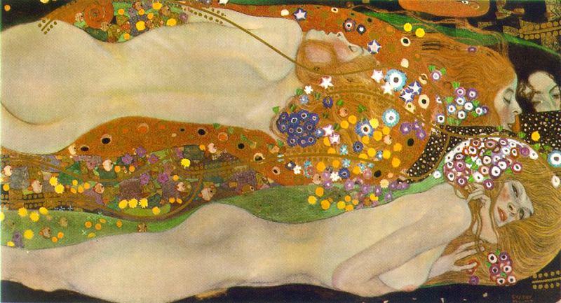 Gustav Klimt. Water serpents II