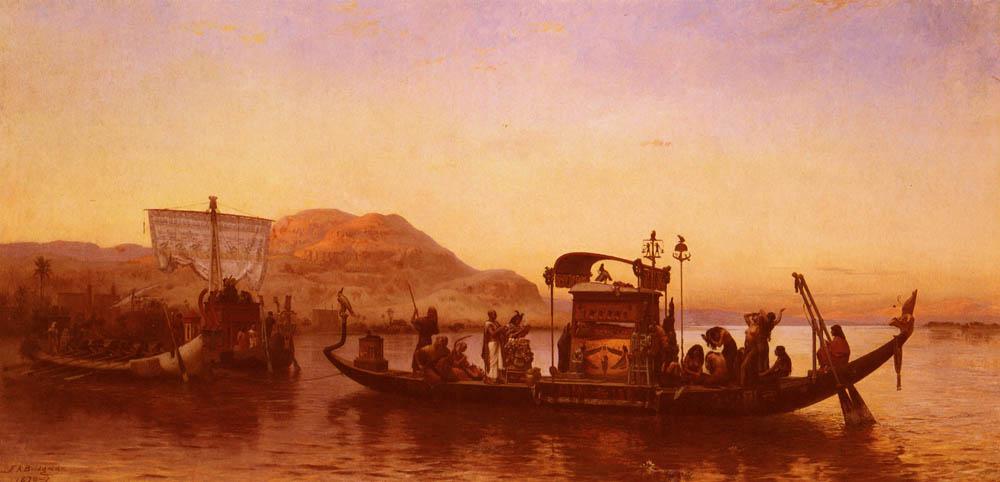 Frederick Arthur Bridgman. Barque Cleopatra