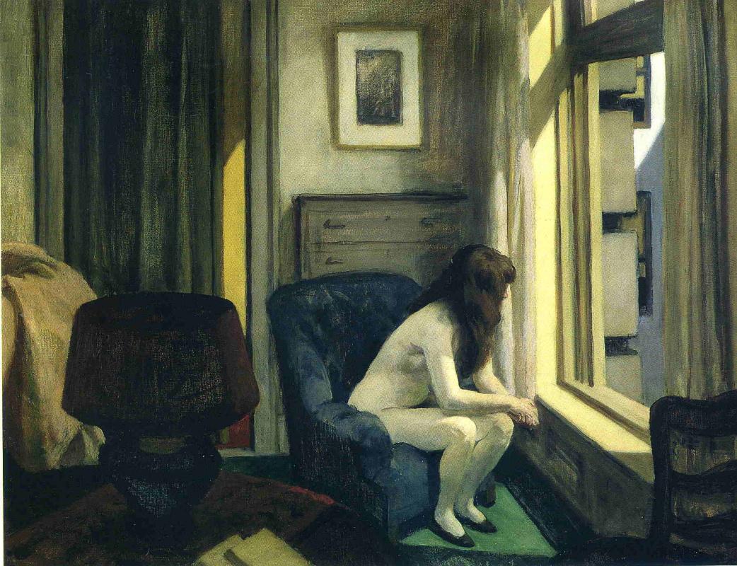 Edward Hopper. Waiting at the window